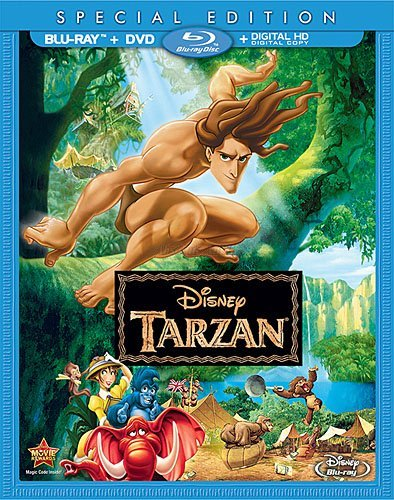 Disney's Tarzan Special Edition (Blu-ray + DVD + Digital HD)