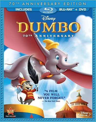Dumbo (Two-Disc 70th Anniversary Edition Blu-ray/DVD Combo)