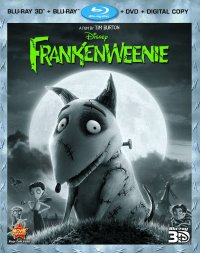 Frankenweenie (Four-Disc Combo: Blu-ray 3D/Blu-ray/DVD + Digital Copy) (2012)