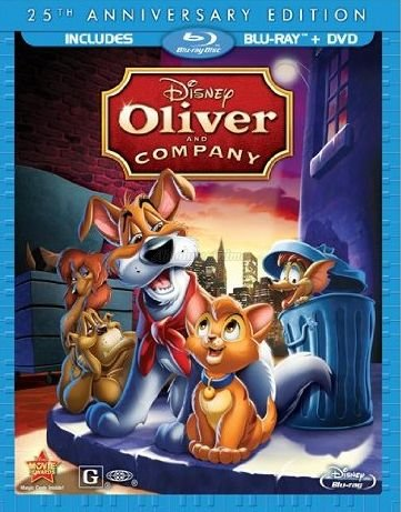 Oliver & Company: 25th Anniversary Edition (BluRay/DVD)