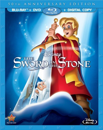 The Sword in the Stone: 50th Anniversary Edition (BluRay/DVD)