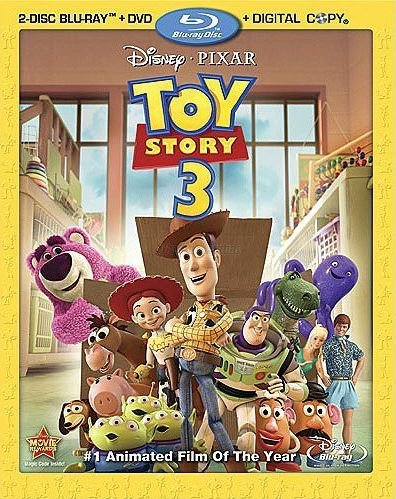 Toy Story 3 (Four-Disc Blu-ray/DVD Combo)