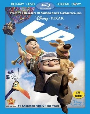 Up (4 Disc Combo Pack with Digital Copy and DVD)