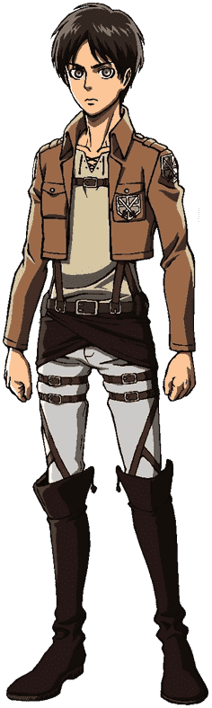 Eren Yeager • Attack On Titan • Absolute Anime
