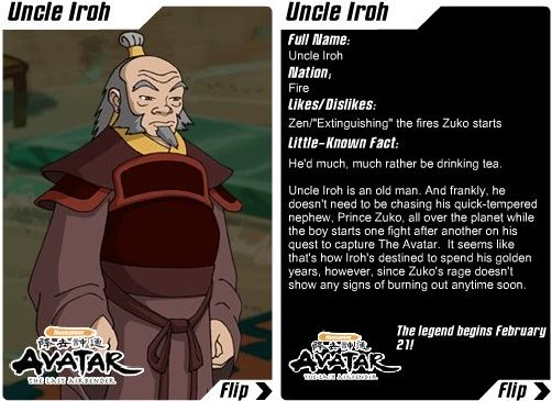 Iroh • Avatar: The Last Airbender • Absolute Anime
