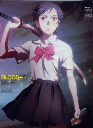 Saya Otonashi Blood Absolute Anime