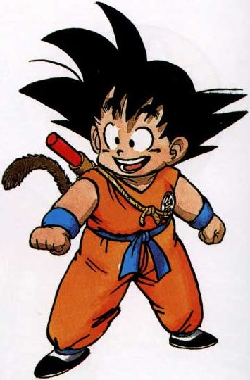 Goku dragon ball absolute anime - Sangoku sangohan ...