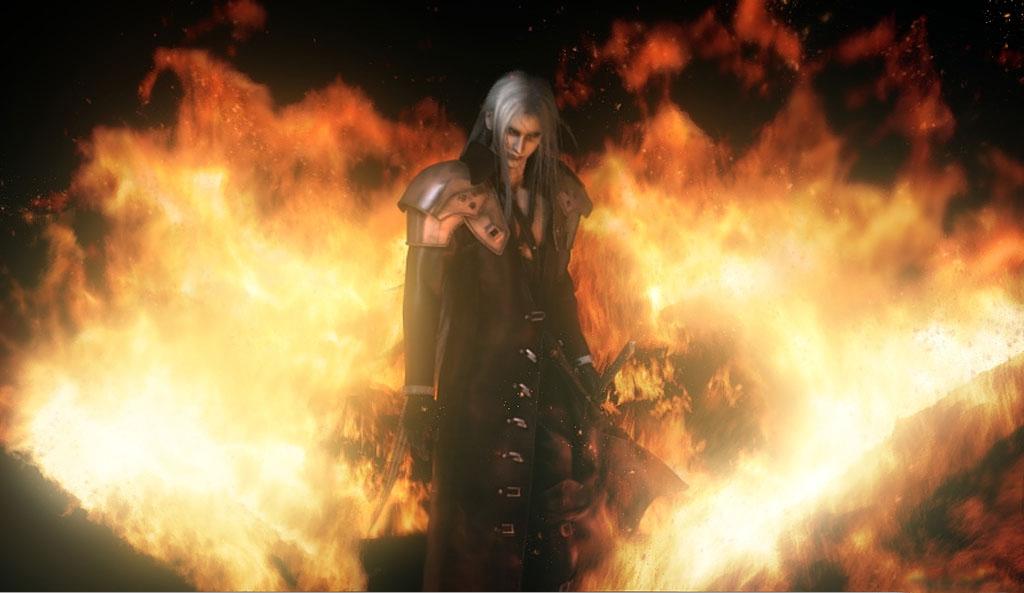 Absolute Anime � Final Fantasy VII: Advent Children � Sephiroth