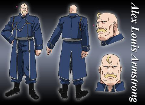 Alex Louis Armstrong Fullmetal Alchemist Absolute Anime