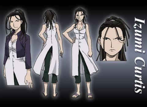Izumi Curtis • Fullmetal Alchemist • Absolute Anime