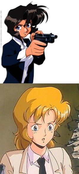 Anime Characters Born On October 8 : Rally vincent gunsmith cats absolute anime