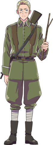 Germany Hetalia Axis Powers Absolute Anime