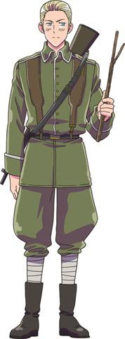 Germany Hetalia Axis Powers Absolute Anime