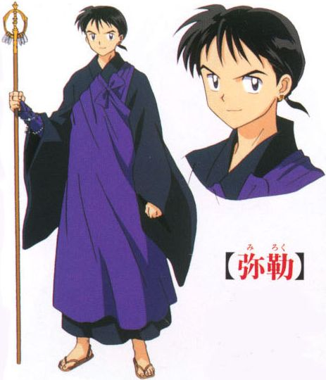 Miroku • InuYasha • Absolute Anime