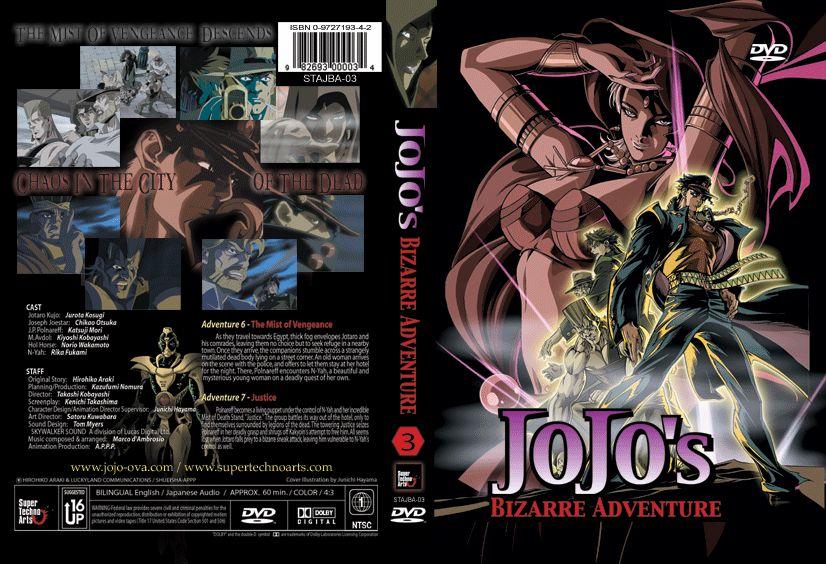 Jojos Bizarre Adventure O Absolute Anime