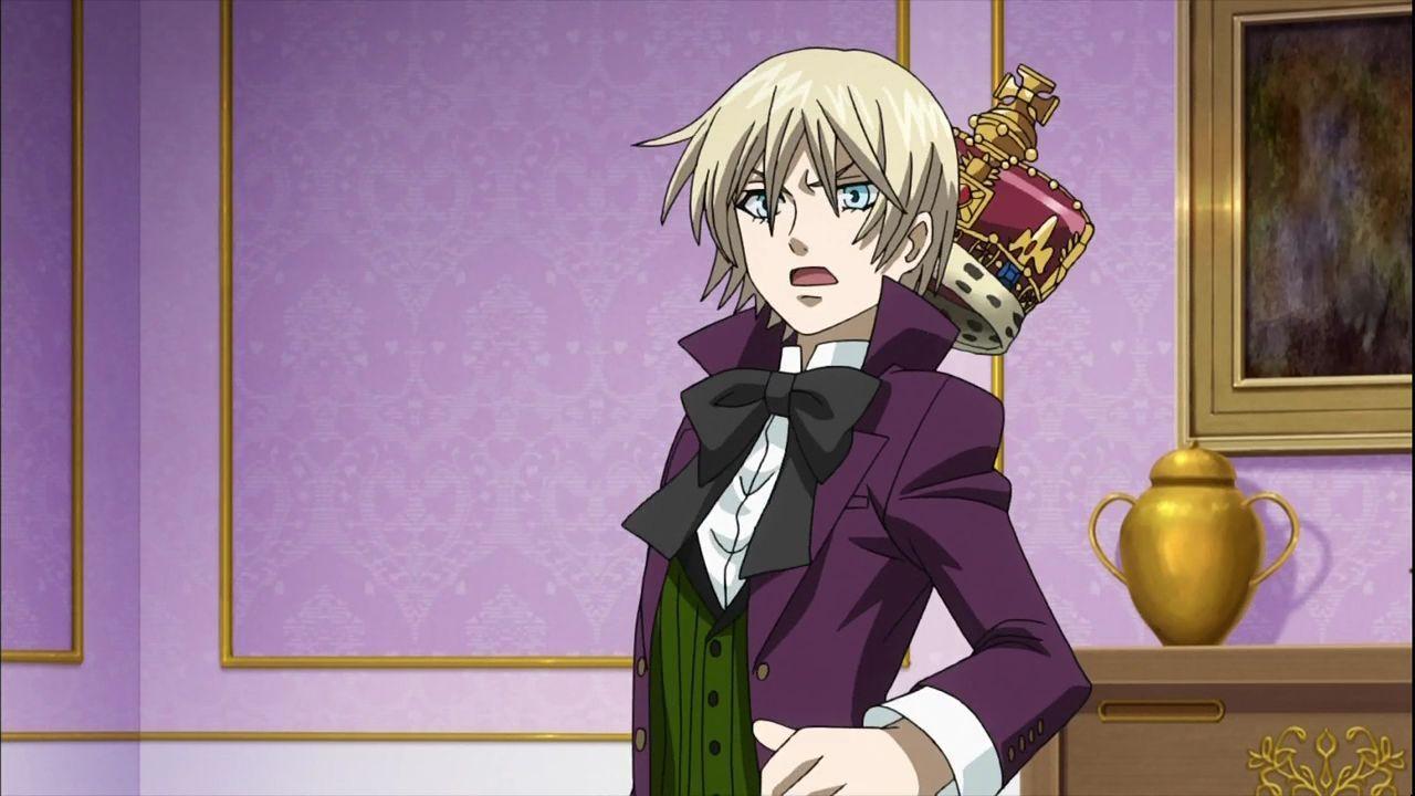 картинки из темного дворецкого принца любит играть