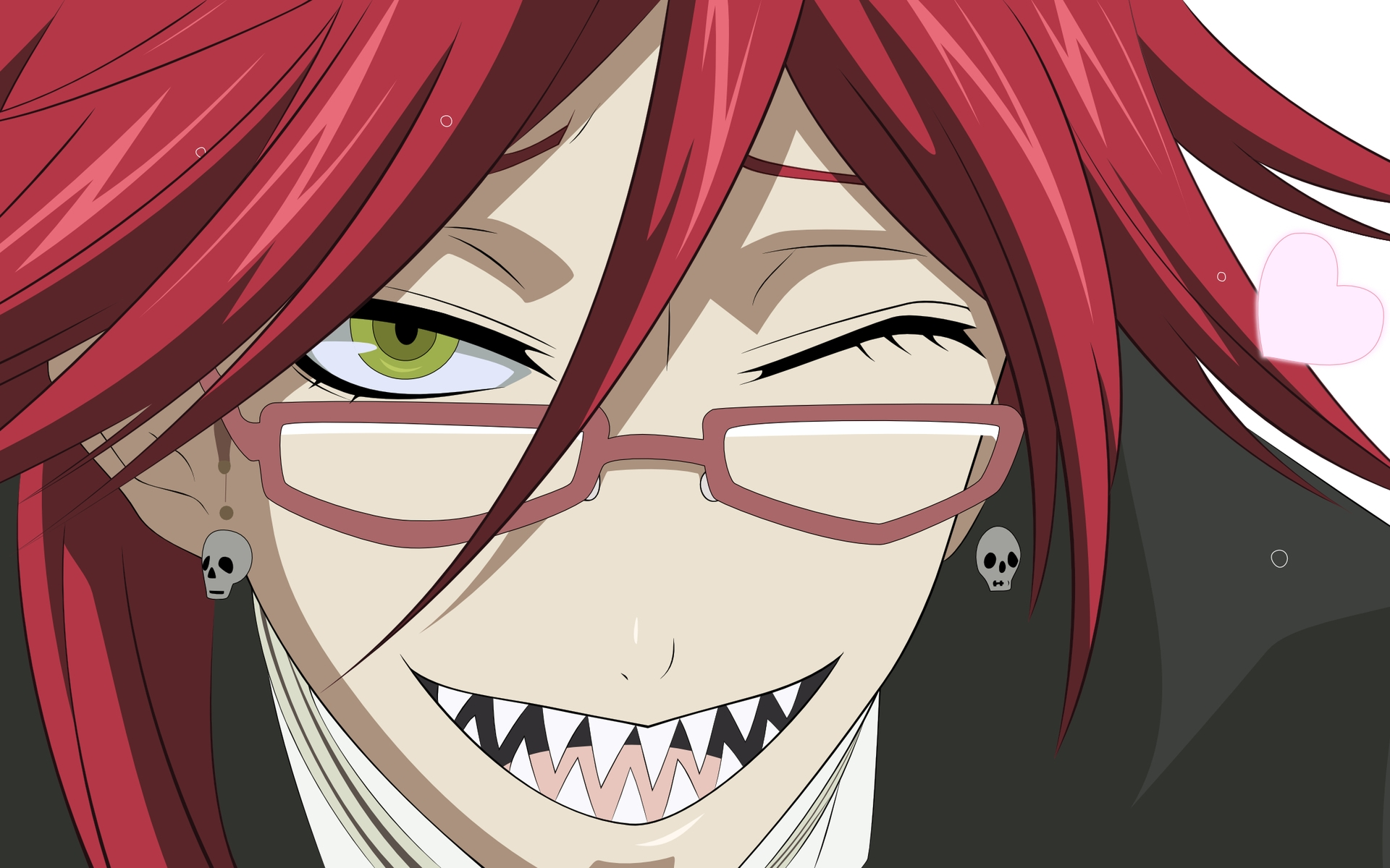 Grell Sutcliffe Black Butler Absolute Anime