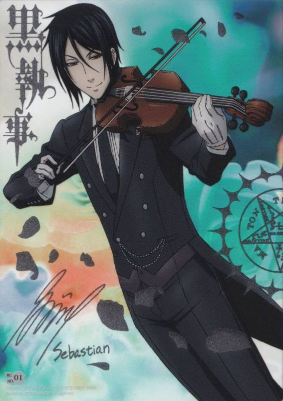 Sebastian Michaelis Black Butler Absolute Anime