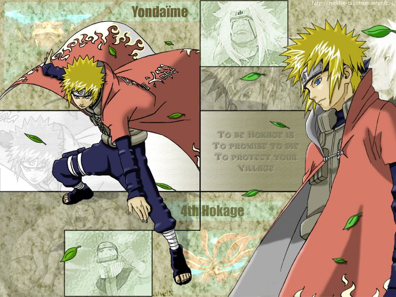 Minato Namikaze  Naruto  Naruto 4 Hokage