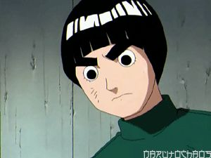 Rock Lee Naruto Absolute Anime