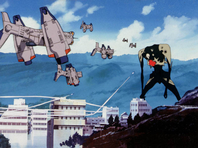 Sachiel Neon Genesis Evangelion Absolute Anime