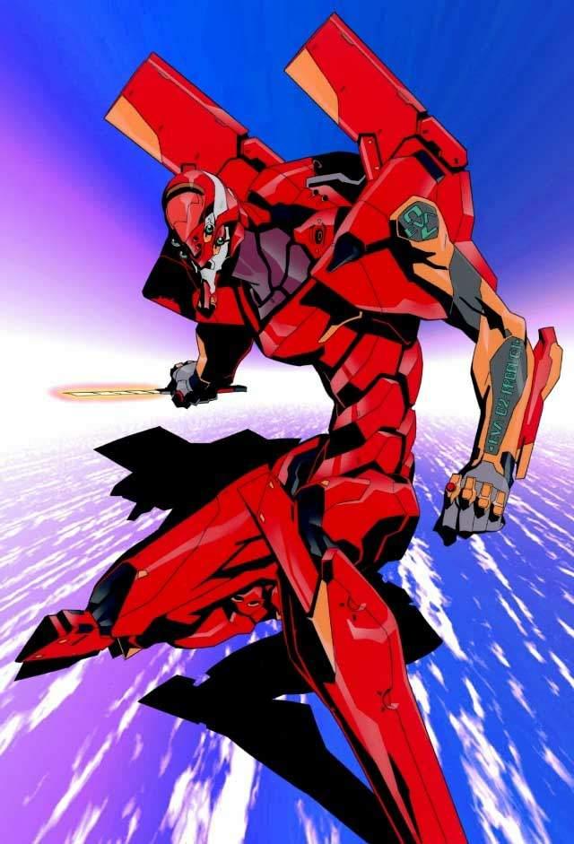 Evangelion Unit 02 • Neon Genesis Evangelion • Absolute Anime