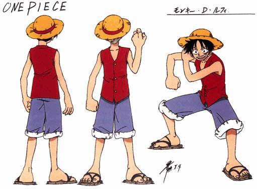 Monkey D Luffy One Piece Absolute Anime