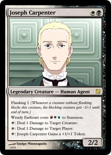 R O D Anime Characters : Joseph carpenter r o d read or die absolute anime