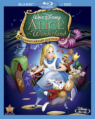 Alice in Wonderland 60th Anniversary Edition (Two-Disc Blu-ray/DVD Combo)