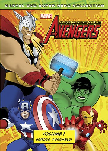 Marvel The Avengers: Earth's Mightiest Heroes, Volume One movie