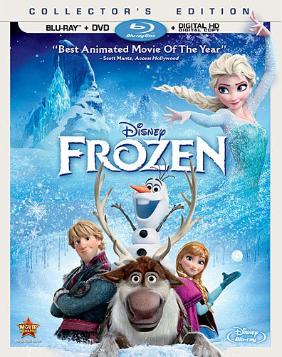 Frozen Collector's Edition (Two-Disc Blu-ray / DVD + Digital Copy)