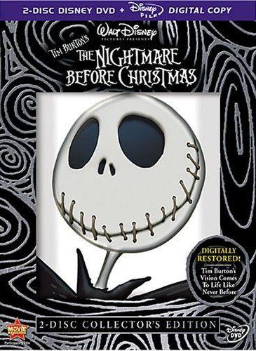 Anime • Reviews • Tim Burton's The Nightmare Before Christmas ...