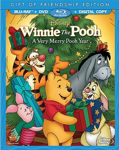 Winnie the Pooh: A Very Merry Pooh Year (Two-Disc Blu-ray/DVD Combo)