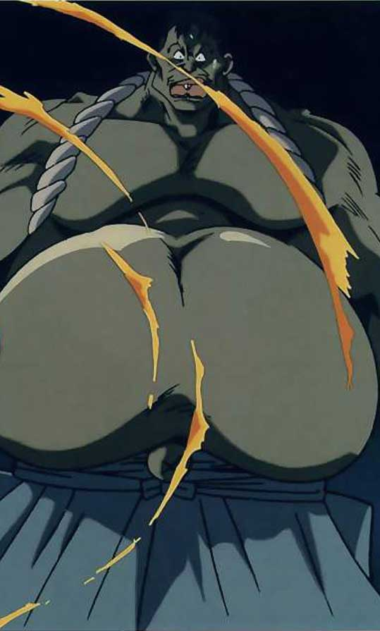 Hyottoko Rurouni Kenshin Absolute Anime