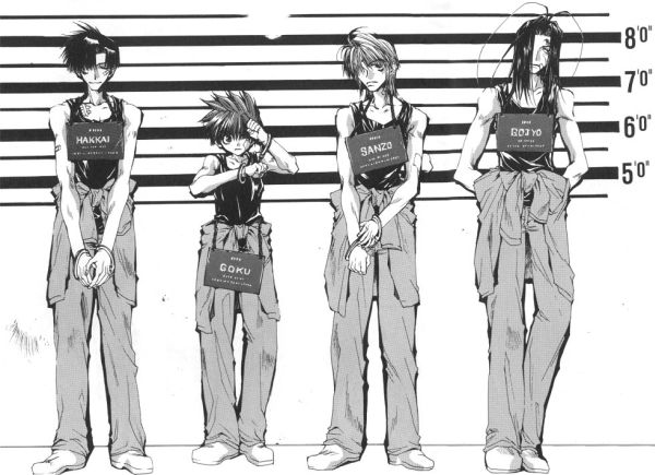 Anime Characters Over 6 Feet Tall : Sha gojyo saiyuki absolute anime