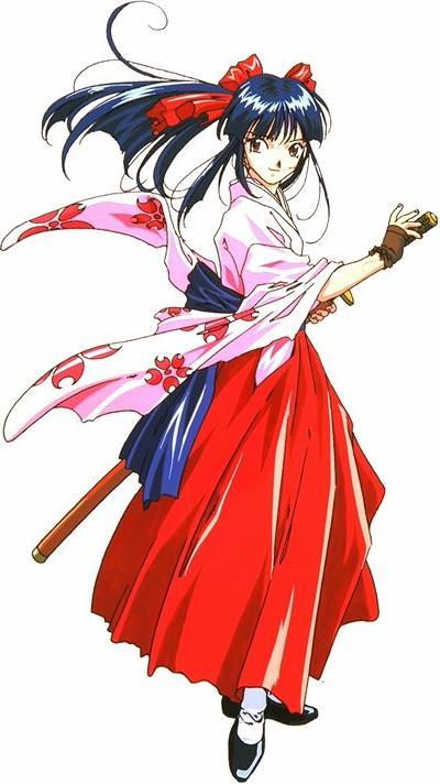 Absolute Anime • Sakura Wars • Sakura Shinguji