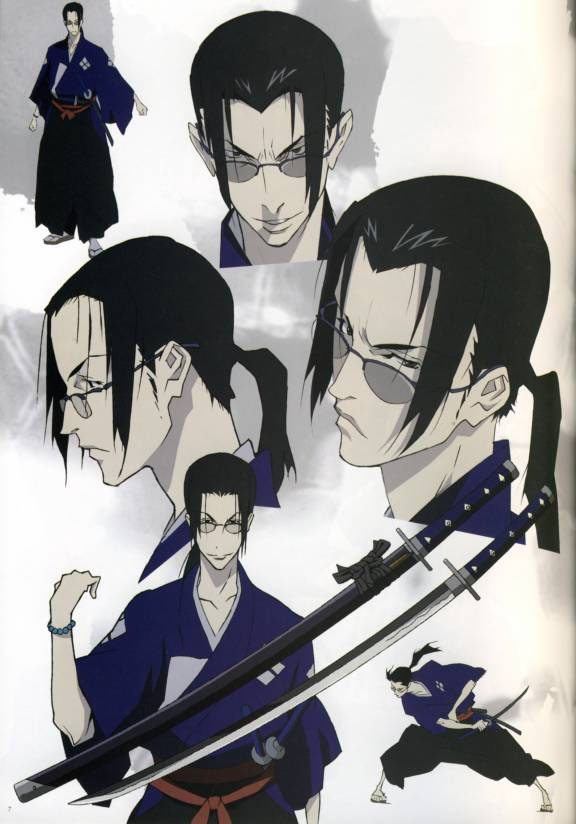 Jin Samurai Champloo Absolute Anime