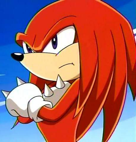 Knuckles The Echidna Sonic The Hedgehog Absolute Anime
