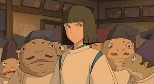 Kohaku Spirited Away Absolute Anime