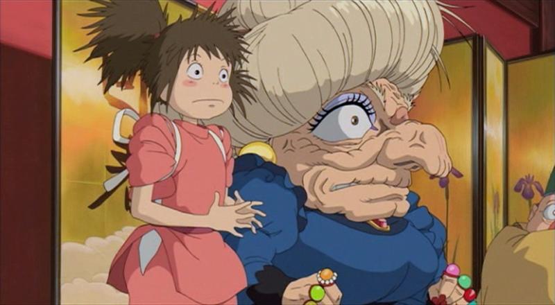 Yubaba Spirited Away Absolute Anime