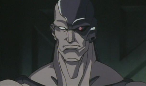 Monitor Cyborg • Street Fighter II- The Animated Movie ...