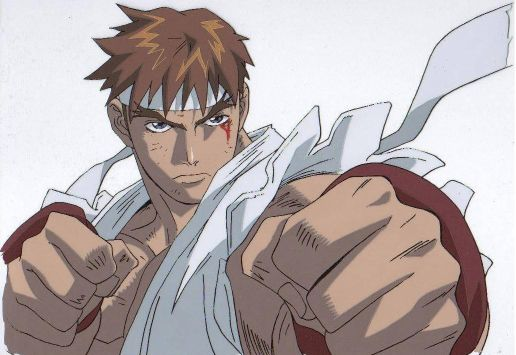 Ryu Street Fighter Ii The Animated Movie Absolute Anime