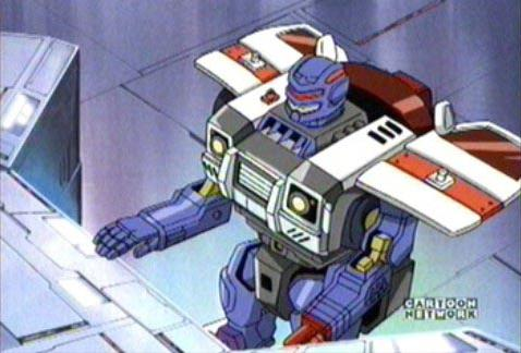 Red Alert Transformers Armada Absolute Anime