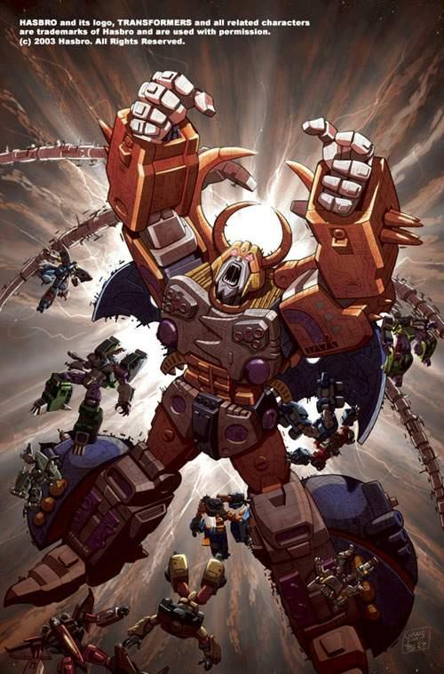 Unicron Transformers Armada Absolute Anime