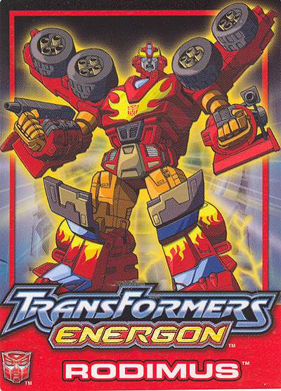 rodimus  u2022 transformers  energon  u2022 absolute anime