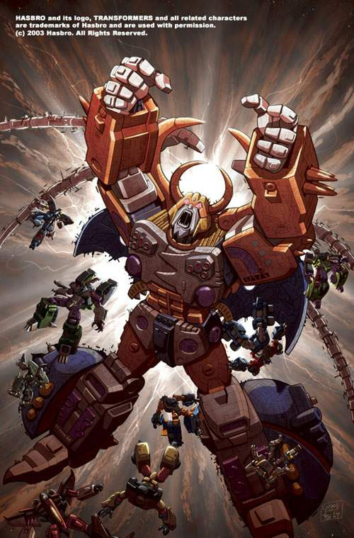 Unicron Transformers Energon Absolute Anime