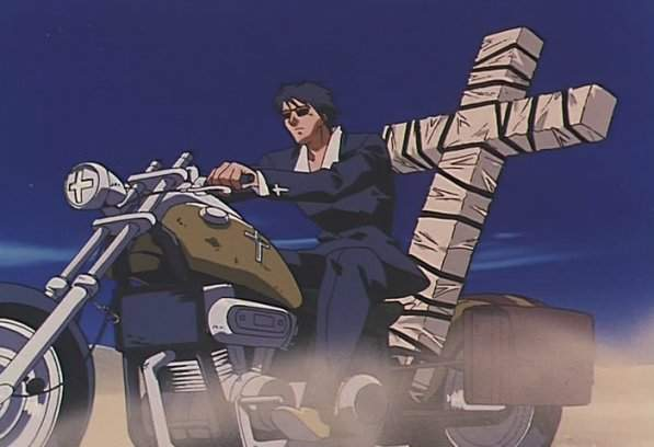 Wolfwood on his Angelina