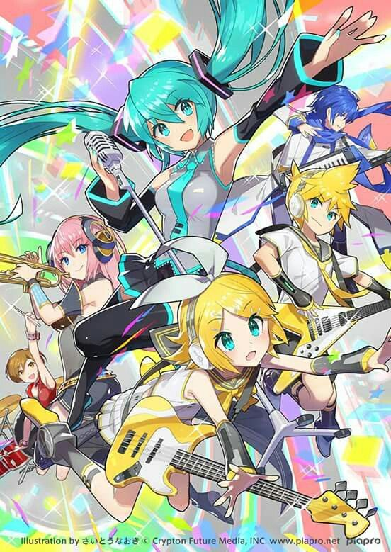Vocaloid, Vocaloid, Vocaloid