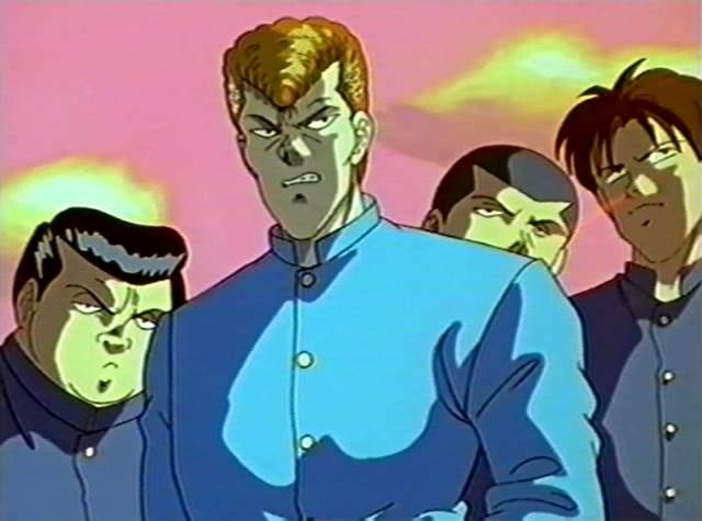 Kazuma Kuwabara Yu Yu Hakusho Absolute Anime