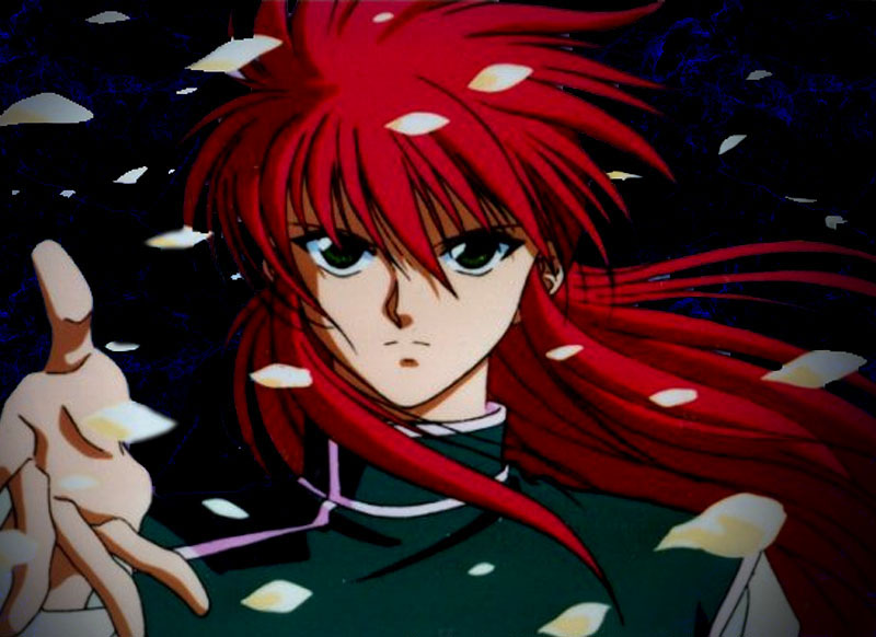 Kurama and Hiei met each other when they were in junior high.
